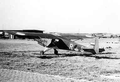 Taylorcraft Auster Mk.III (1948-1956), R-9  op het MVKV