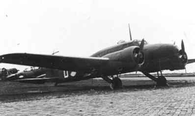 Avro 652A Anson Mk.1.
