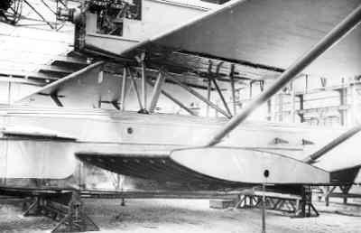 Maritieme patrouillevliegboot Dornier Wal in aanbouw (1926-1940)