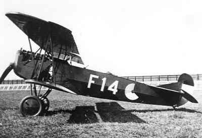 Fokker C-I overgangslesvliegtuig vliegopleiding F 14 (1925-1936)