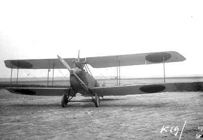 Rumpler C.I R410, ex 2560/17, op Soesterberg, januari 1918.