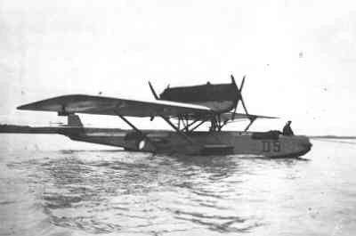 Dornier Wal maritieme patrouillevliegboot (1926-1939), reg.nr. D 5, bij MVKMorokrembangan, Nederlands-Indië