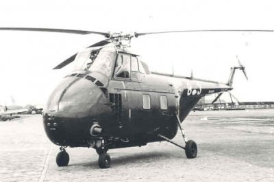 Sikorsky HO4S-3 (UH- 19F) Air Sea Rescue helikopter, reg.nr. H-3 (1953-1962)