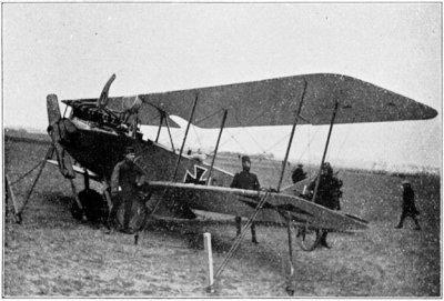 Rumpler C.I 2560/17 landde op 1 december 1917 te Zesgehuchten bij Geldrop. Ned.reg. R410.