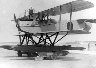Verkenningsvliegtuig Van Berkel WA (1919-1933), zonder registratie