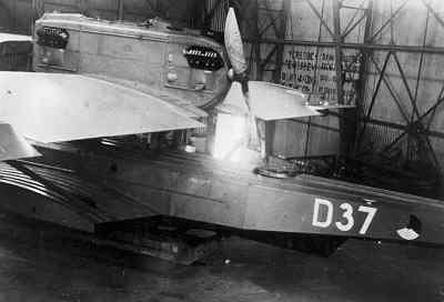 Maritieme patrouillevliegboot Dornier Wal D 37 (1930-1940) Aviolanda Papendrecht/Ned.