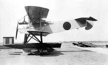 Verkenningsvliegtuig Van Berkel WA (1919-1933) op de Mok