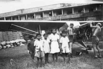 Auster AOP Mk.3 in Nederlands-Indië.