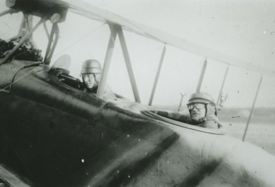 D.F.W. C.V (LVG) ex-LA47 met kpt.vl. Van Heijst en Prins Hendrik, 5 juni 1918.
