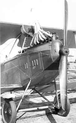Rumpler C.Ia LA49, ex 968/17, op Soesterberg najaar 1917. Later reg. R409.