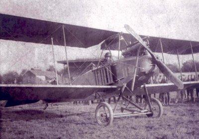 Albatros B.I geïnterneerd en daarna door Nederland aangekocht toestel.