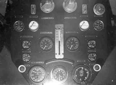 Dornier Wal , Maritiem patrouillevliegboot, instrumentenpaneel, 1927-11-22,  (1926-1940).