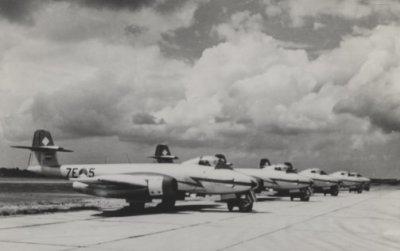 Gloster F.Mk.8 Meteor demoteam