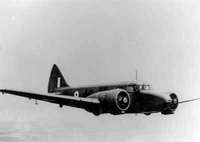 Airspeed AS10 Oxford, lesvliegtuig voor vliegers bestemd voor meermotorige bommenwerpers