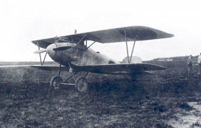 Albatros D.III met de Nederlandse registratie AL211. Het Duitse registratienummer was 2002/16.