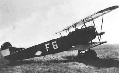 Fokker C-I overgangslesvliegtuig vliegopleiding F 6 (1921-1936)