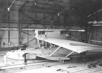 Dornier Wal maritieme patrouillevliegboot  (1926-1939), reg.nr. D 3, bij MVKMorokrembangan, Nederlands-Indië, 1926