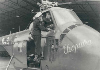Sikorsky HO4S-3 (UH- 19F) Air Sea Rescue helikopter, reg.nr. H-3 (1953-1962), bijgenaamd Cleopatra