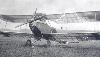 Albatros C.III met registratie 12115/17 bij Uithuizen op 11 mei 1918. Vliegtuig was van de Duitse Flugmaat R. Lorch.