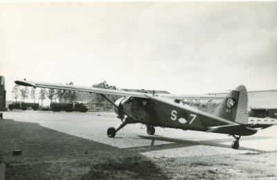 Beaver met registratie S-7.