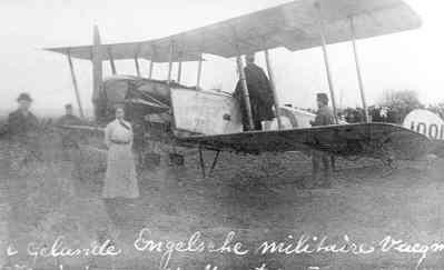 Avro 504 nr. 1001.