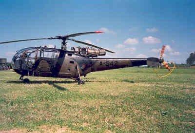 Alouette III, registratie  A-542.