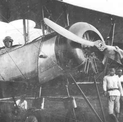 AVRO 504K van LA/KNIL