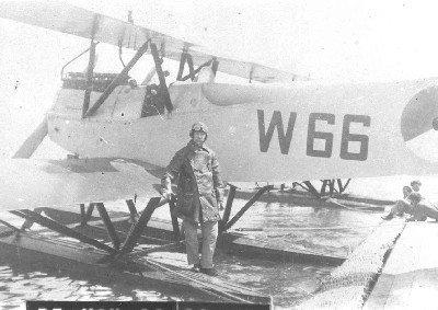 Verkenningsvliegtuig Van Berkel WA (W-66) (1919-1933) op de Mok