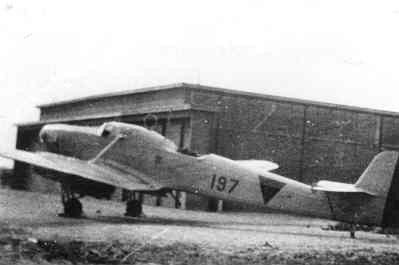 Focke-Wulf FW-58 op Texel.
