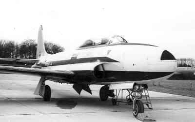 T-33A op Valkenburg.