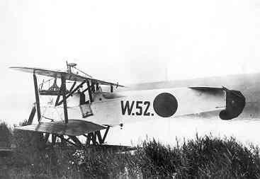 Verkenningsvliegtuig Van Berkel WA (W-52) (1919-1933). In het Noord-Hollands kanaal