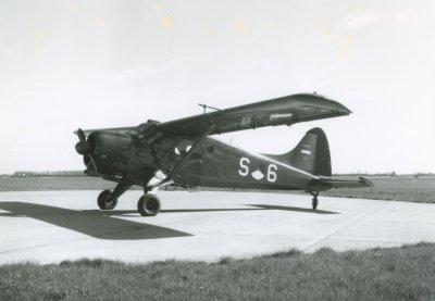 Beaver S-6 op vliegbasis Ypenburg.