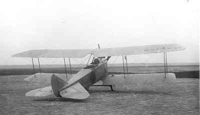 Rumpler C.I R410, ex-2560/17 op Soesterberg, januari 1918.