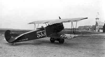 Fokker C.I 533, kenteken oranje bol.