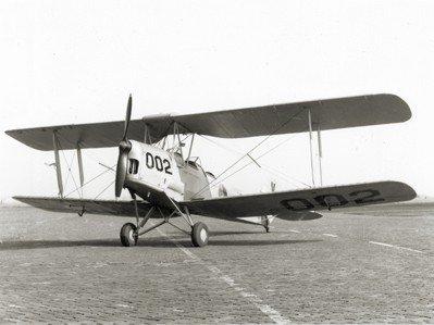 Lesvliegtuig De Havilland D.H.82a Tiger Moth