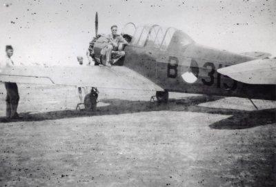 Commomwealth CA-6 Wackett lesvliegtuig voor de eerste vliegopleiding van de ML/KNIL