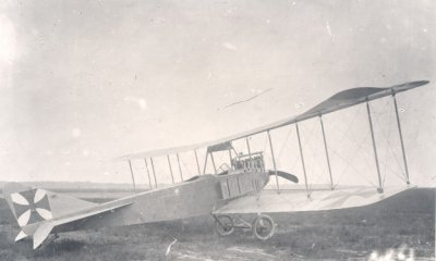 Albatros B.I geïnterneerd op 13 april 1915.