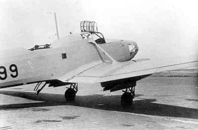 Focke-Wulf FW-58 Weihe 199.