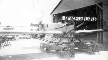 Verkenningsvliegtuig Van Berkel WB (1921-1933) op de Mok