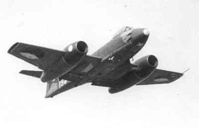 Gloster F.Mk.8 Meteor van 323 Sqn.
