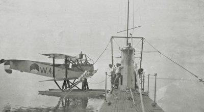 Verkenningsvliegtuig Van Berkel WA (W-4) (1919-1933) bij Hr.Ms. K-I