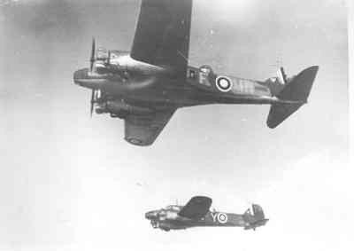 Kustverkenners AVRO 625A ANSON MK.1 (1940-1942)  van VSQ 321