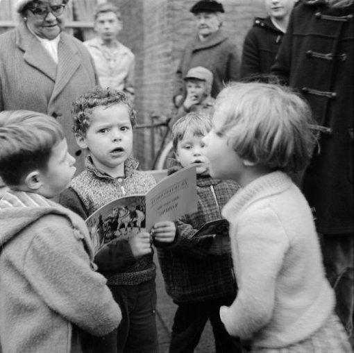 Foto van de week, Freek Aal, Nederlands Fotomuseum, Sinterklaas