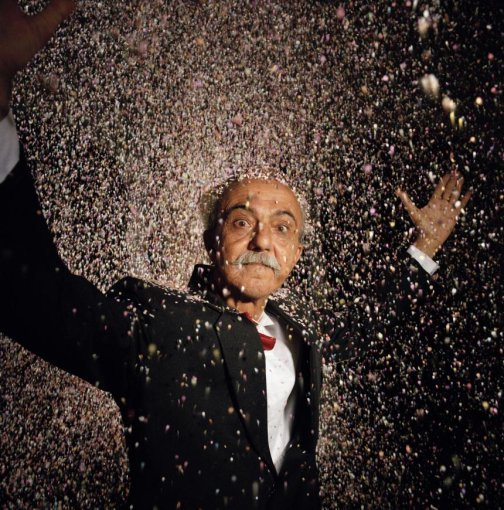 Hannes Wallrafen Gabriel García Márquez De presidentskandidaat (uit Een dagreis naar Macondo), Colombia (1988-1991)