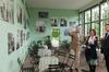 Landgoed Middachten; De Steeg; Graaf zu Ortenburg; Interview Dolf Muller en Annemieke Vos; Oranjerie; Foto-tentoonstelling