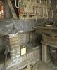 interieur, detail van de paardenstal, in gebruik als werkplaats