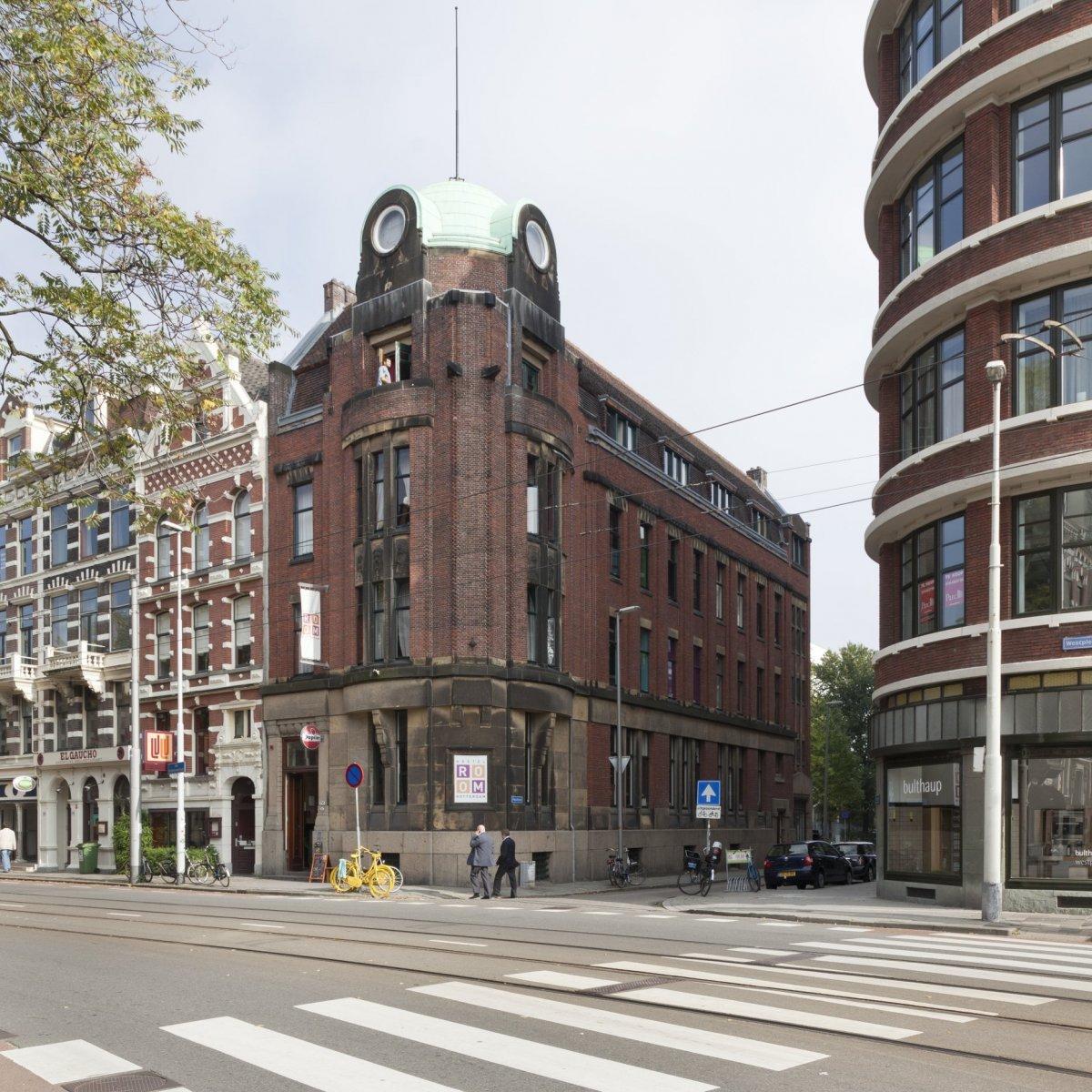 Kantoorpand in expressionistische stijl in rotterdam monument - Expressionistische architectuur ...