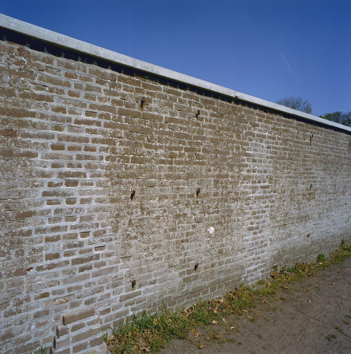 Bakstenen muur tuin - Muur tuin ...