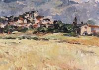 Landschap Balazuc