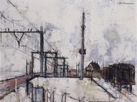 Bij station Holten